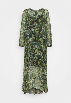 Marc O'Polo PURE - DRESS CRINKLE CHI - Maxikleid - green
