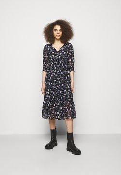 The Kooples - DRESS - Freizeitkleid - black/purple