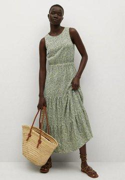 Mango - MAFALDA - Vestido informal - verde pastel