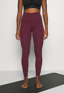 Nike Performance - THE YOGA LUXE - Collants - night maroon/team red