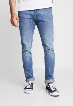 TOM TAILOR DENIM - PIERS STRETCH - Slim fit jeans - mid stone wash denim blue
