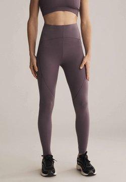 OYSHO - Tights - dark purple