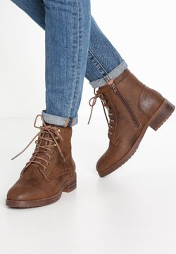 Anna Field - Bottines à lacets - coffee