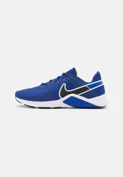 Nike Performance - LEGEND ESSENTIAL 2 - Kuntoilukengät - deep royal blue/black/racer blue/volt/white