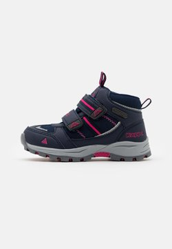 Kappa - HOVET TEX UNISEX - Chaussures de marche - navy/pink