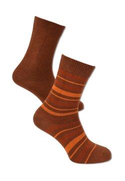 Carlo Colucci - 2 PACK - Socken - rot