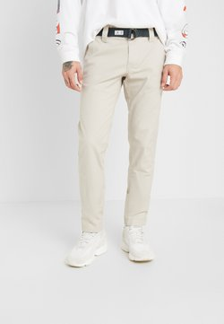 Tommy Jeans - SCANTON DOBBY PANT - Chinot - pumice stone