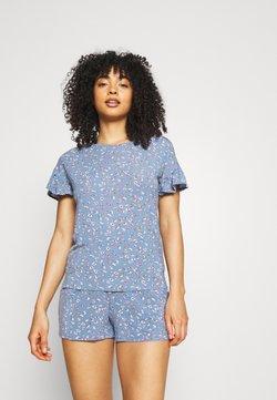 Marks & Spencer London - DITSY SHORTIE - Pyjama - chambray