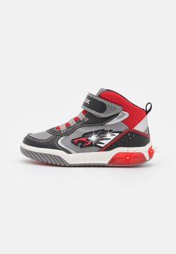 Geox - INEK BOY - Baskets montantes - grey/red