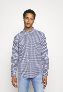 Abercrombie & Fitch - SIGNATURE GINGHAM - Hemd - navy