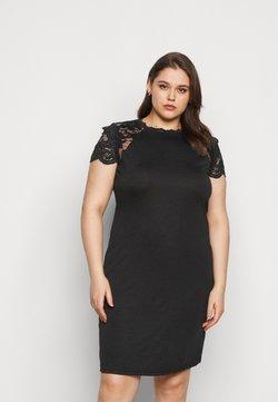 Vero Moda Curve - VMSANDREA ABOVE KNEE DRESS  - Etuikleid - black