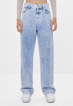 Bershka - Flared Jeans - blue denim