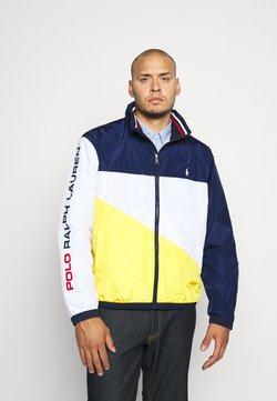 Polo Ralph Lauren Big & Tall - PACE FULLZIP - Veste légère - newport navy/yellow
