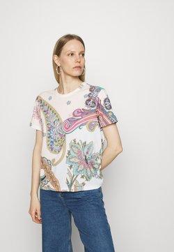 Desigual - POPASLEY - T-Shirt print - white