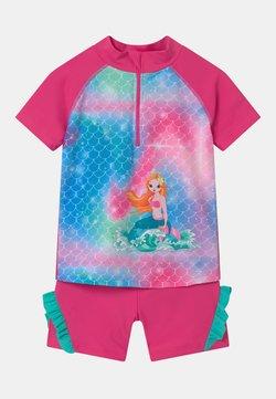 Playshoes - UV-SCHUTZ MEERJUNGFRAU SET - Badpak - pink