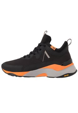 ARKK Copenhagen - STORMRYDR VULKN VIBRAM - Sneaker low - black/orange