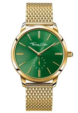 THOMAS SABO - GLAM SPIRIT - Montre - gold-coloured/green