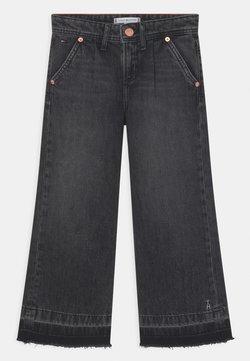 Tommy Hilfiger - WIDE LEG - Jeans baggy - black denim
