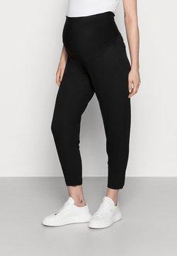 Lindex - TROUSERS MOM JASMINE - Pantalones deportivos - black