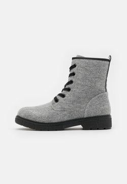 Marco Tozzi - Bottines à plateau - grey