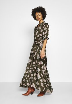 Kaffe - KAVELANA DRESS - Vestido largo - grape leaf