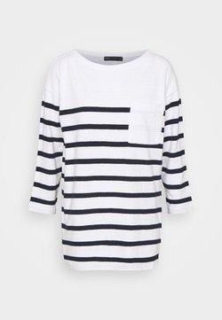 Marks & Spencer London - PREPPY  - Langarmshirt - white