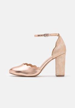 Wallis Wide Fit - WHISPER - High Heel Pumps - rose gold metallic