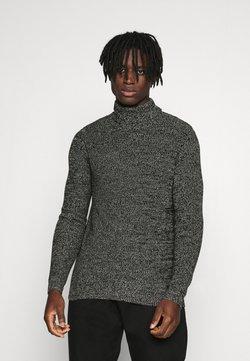 Redefined Rebel - OLIVER ROLL NECK - Pullover - black