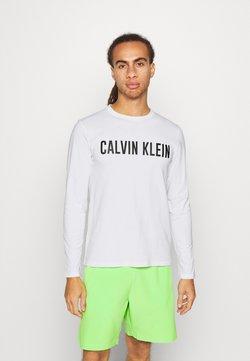 Calvin Klein Performance - LONG SLEEVE - Pitkähihainen paita - white