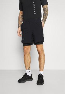 Under Armour - LAUNCH SHORT - Pantalón corto de deporte - black