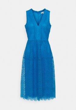 MICHAEL Michael Kors - MIDI DRESS - Freizeitkleid - bright cyan blue