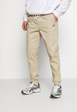 Champion Rochester - ELASTIC CUFF PANTS - Jogginghose - beige