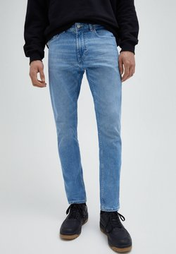 PULL&BEAR - Jean slim - stone blue denim