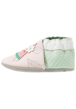 Robeez - FRUIT'S PARTY - Krabbelschuh - rose clair/vert clair