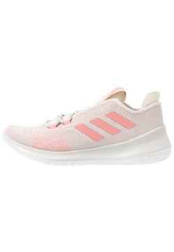 adidas Performance - SENSEBOUNCE + ACE - Laufschuh Neutral - alumin/glow pink/footwear white