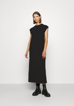 Weekday - LIA DRESS - Jerseyjurk - black