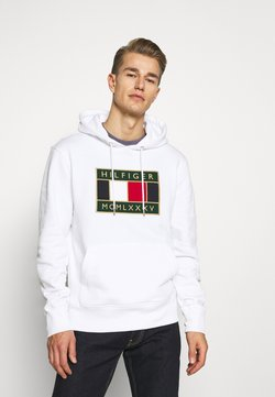 Tommy Hilfiger - ICON BADGE HOODY - Sweat à capuche - white