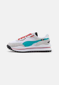 Puma - STYLE RIDER NEO ARCHIVE - Baskets basses - white/gray violet