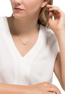 FAVS - DAMEN-KETTE 925ER SILBER 10 ZIRKONIA - Halskette - silber