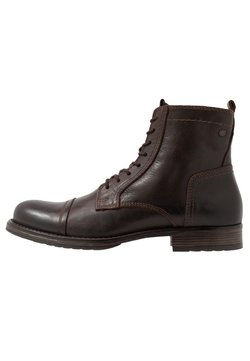 Jack & Jones - JFWRUSSEL - Schnürstiefelette - brown stone