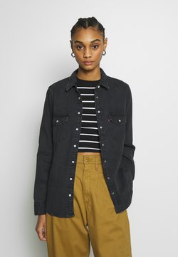 Levi's® - ESSENTIAL WESTERN - Hemdbluse - black sheep