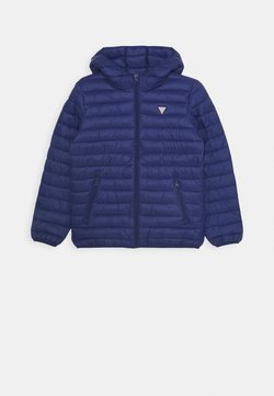 Guess - JUNIOR UNISEX PADDED PUFFER - Veste d'hiver - blue