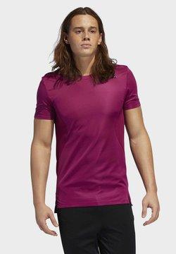 adidas Performance - HEAT.RDY TRAINING T-SHIRT - T-Shirt print - purple