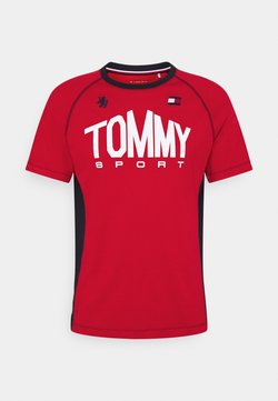 Tommy Sport - ICONIC TEE - Funktionsshirt - red