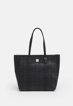MCM - TONI VISETOS SHOPPER MEDIUM - Bolso shopping - black