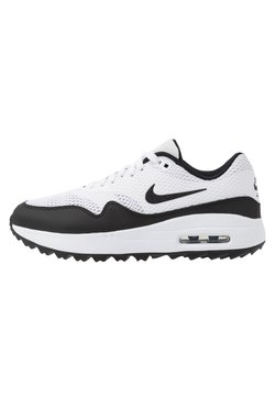 Nike Golf - AIR MAX 1 G - Obuwie do golfa - white/black