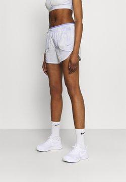 Nike Performance - LUXE SHORT - Pantalón corto de deporte - light thistle/clear