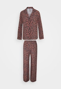LingaDore - SET - Pyjama - brown/black