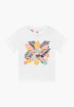 adidas Originals - TEE - T-shirt print - white/multi-coloured