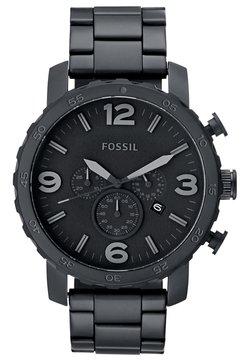 Fossil - NATE - Chronograph - schwarz